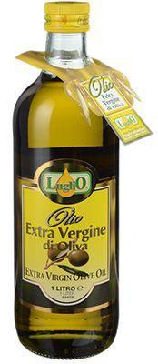 Масло оливковое Extra Virgine Luglio 1л нерафинированное, из смеси оливковых масел, Италия