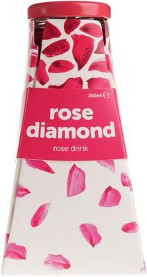 Напиток из лепестков роз 250мл Rose Diamond, Болгария