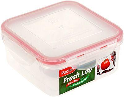 Контейнер для продуктов квадратный объем - 0,86л, PACLAN Fresh Life