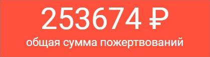 Средства, собранные в поддержку Сергея Захарова