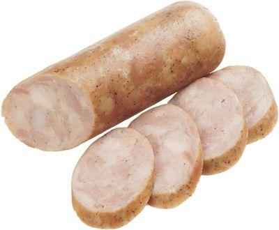 Колбаса из курицы запеченная ~ 300г натуральная, варено-копченая, Востряково