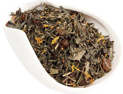 Чай зеленый Солнечный персик 100г ароматизированный, Китай