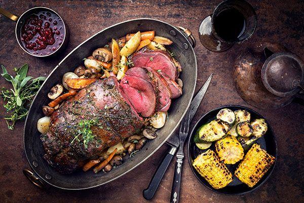 мясо дичи, запеченное в духовке