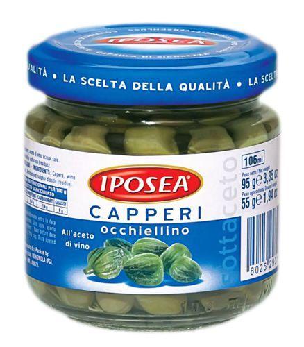 Каперсы Окьелло в уксусе 95г IPOSEA
