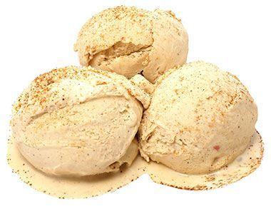 Мороженое Халва с миндалем 500мл натуральное, ручной работы