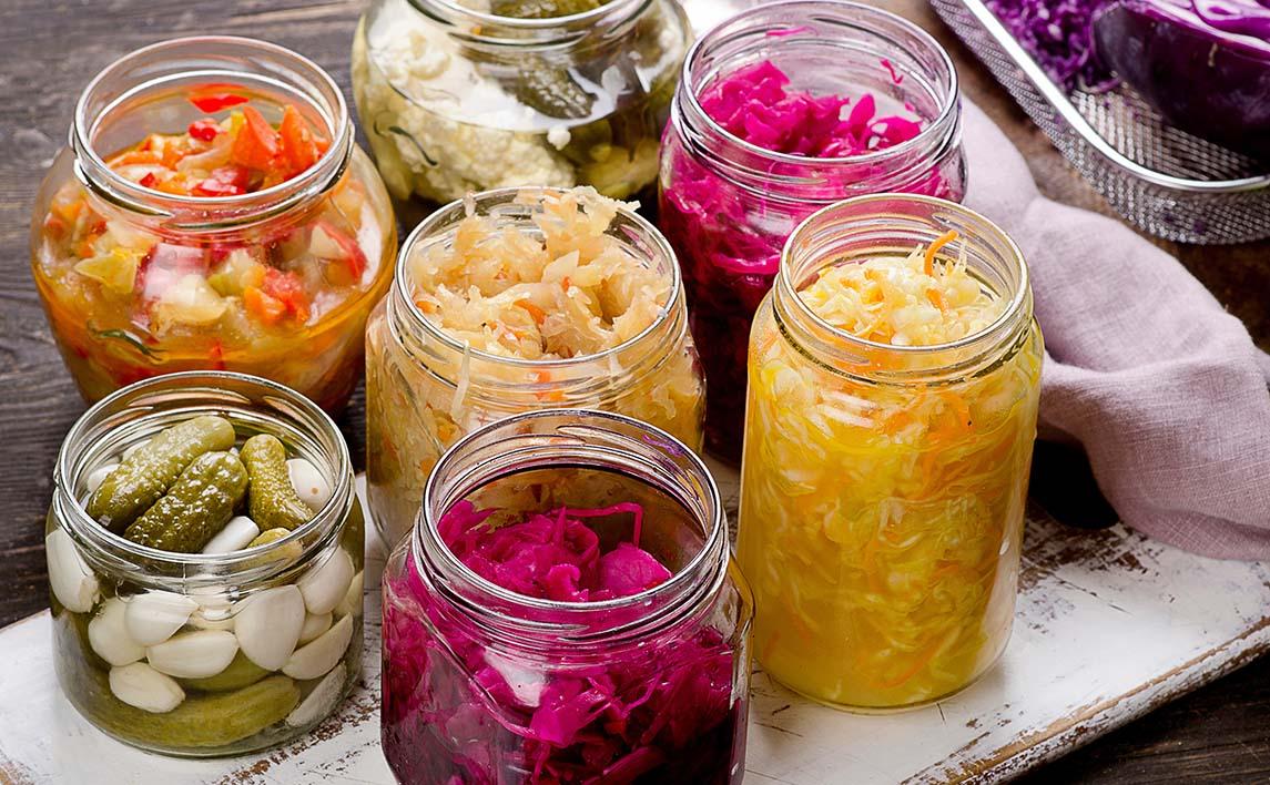 Ферментированные продукты - источник пробиотиков