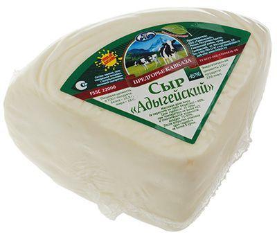 Сыр Адыгейский 45% жир., ~300г Предгорье кавказа