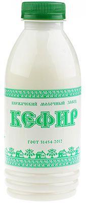 Кефир 1% жир., 500г Киржачский Молочный Завод