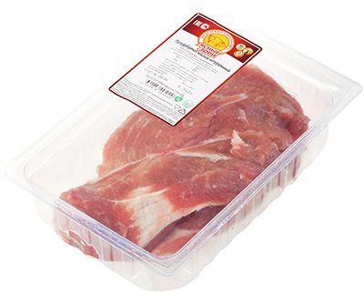 Лопатка свиная ~ 600г охлажденная, без кости, средний вес куска 450-900г, Ясные Зори