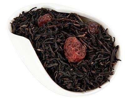 Чай черный Дикая вишня 100г ароматизированный