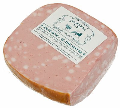 Колбаса Любительская вареная ~ 500г натуральная, из фермерского мяса, ГОСТ