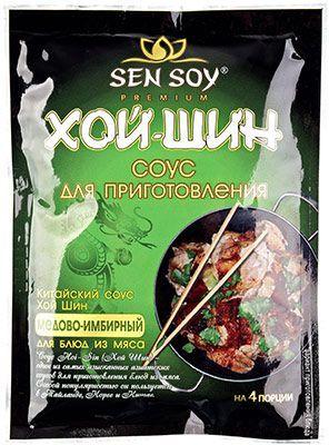 Соус Хой шин 120г 4 порции, для блюд из мяса, Сэн Сой