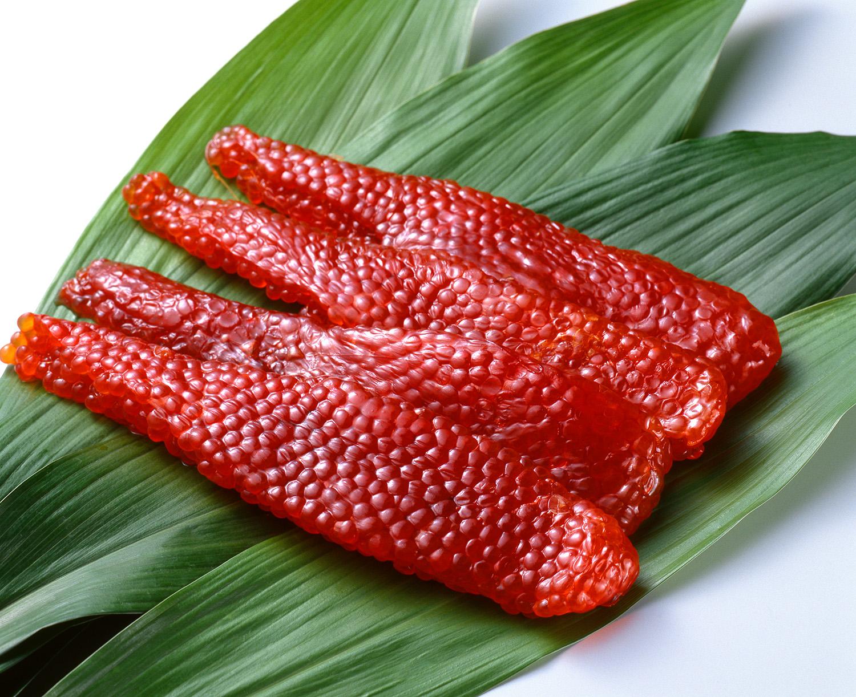 вяленая икра в азиатской кухне