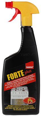 Пенящееся средство для удаление жира и сажи 750мл для духовых шкафов, концентрат, Forte Plus