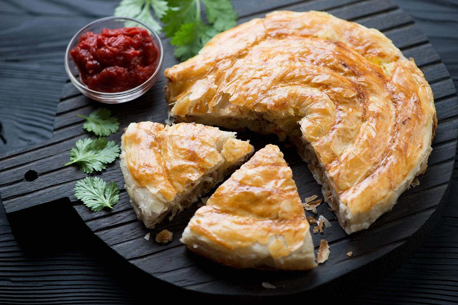 турецкий пирог бурек