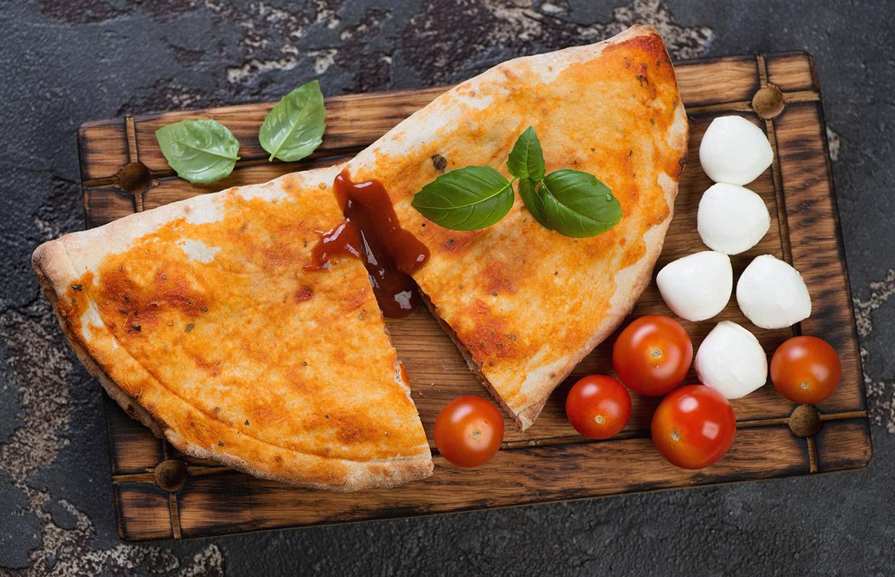 итальянский пирог кальцоне