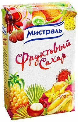 Сахар фруктовый 500г Мистраль