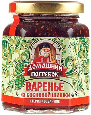 """Варенье шишковое """"Сосновое"""" 250г 100% натуральное, Солнечная Сибирь"""