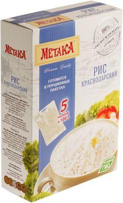 Рис краснодарский премиум 500г 5 пакетов х 100г