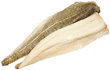 Треска филе на коже экспортная ~1кг замороженная, вес 1 шт 250-450г, Россия