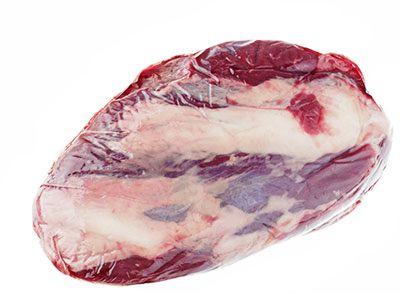 Голяшка говяжья ~ 1,1кг 1-2 куска, некалиброванная, без кости, охлажденная, зерновой откорм, Мираторг