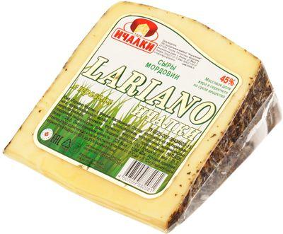 Сыр Ларьяно с травам 48% жир., ~350г натуральный продукт, Ичалки