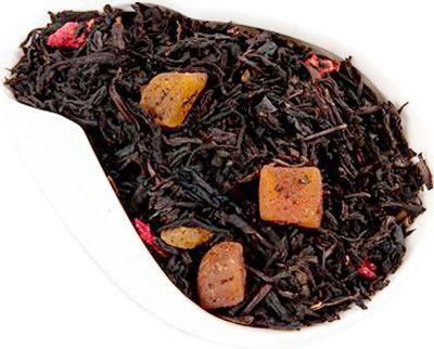 Чай черный Клубника и Дыня 100г ароматизированный