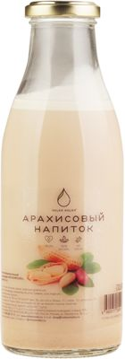 Напиток арахисовый 500мл 100% натурально, без сахара, Volkomolko, 14 суток