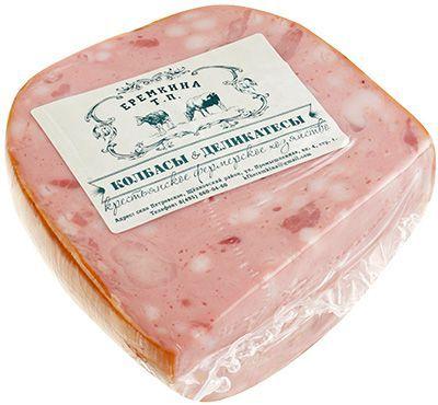 Колбаса Телячья ГОСТ ~ 450г вареная, из фермерского мяса