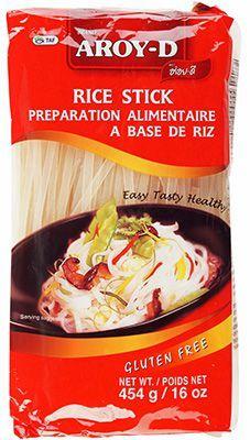 Лапша рисовая 5 мм 454г Aroy-D, Таиланд