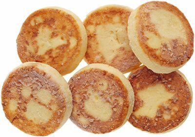 Сырники из творога с курагой 4,4% жир., 300г 6шт, замороженные, сделано вручную, Караваево