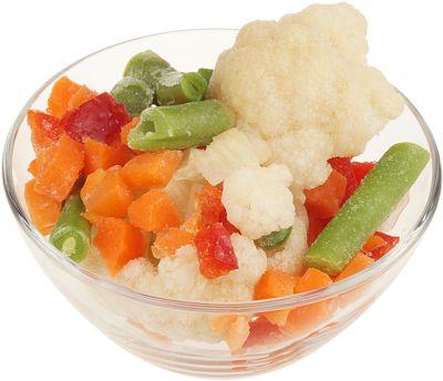 Витаминная смесь овощей 400г быстрозамороженная смесь