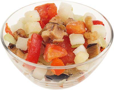 Рататуй смесь овощей 400г быстрозамороженная смесь