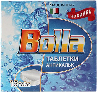 Средство от накипи накипи BOLLA 15шт