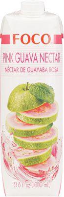 Нектар розовой гуавы 1л FOCO
