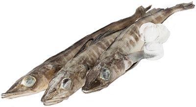 Ледяная рыба замороженая ~ 600г 2-3шт, непотрошеная, 1 шт ~ 200-300 г