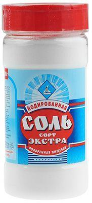 Соль Экстра йодированная 500г Россия