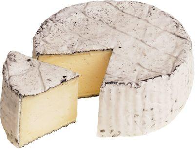 Сыр Густой туман с белой плесенью 50-60% жир., ~ 190г обсыпанный золой, семейная сыроварня в Замыцком