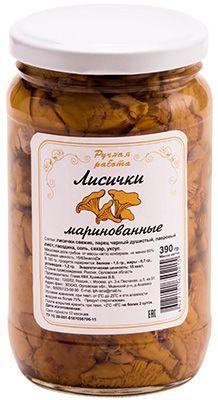 Лисички маринованные 390г грибы, Орловская область