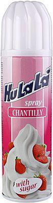 Крем взбитый HuLaLa 24% жир., 250г сливки взбитые на растительном масле, спрей, ультрапастеризованные