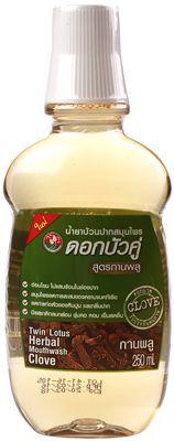 Ополаскиватель для полости рта 250мл Twin Lotus, Тайланд