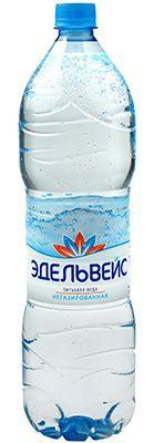 Вода Эдельвейс Натурель 1,5л негазированная