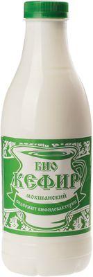 Кефир БИО 3,2% жир., 930г обогащенный бифидобактериями, Мокшанский МК, 14 суток