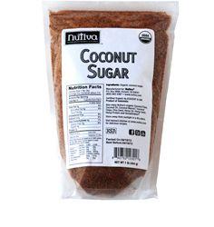 Сахар кокосовый 500г Organic, Nutiva