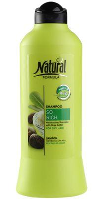 Шампунь для сухих и поврежденных волос 700мл Natural Formula, Израиль