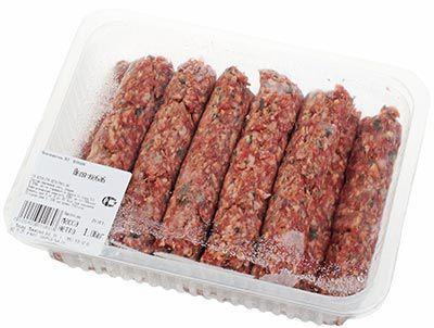 Люля-кебаб из баранины ~ 1кг замороженный, 8-10 шт