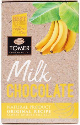 Шоколад молочный с бананом 90г натуральный продукт по оригинальному рецепту