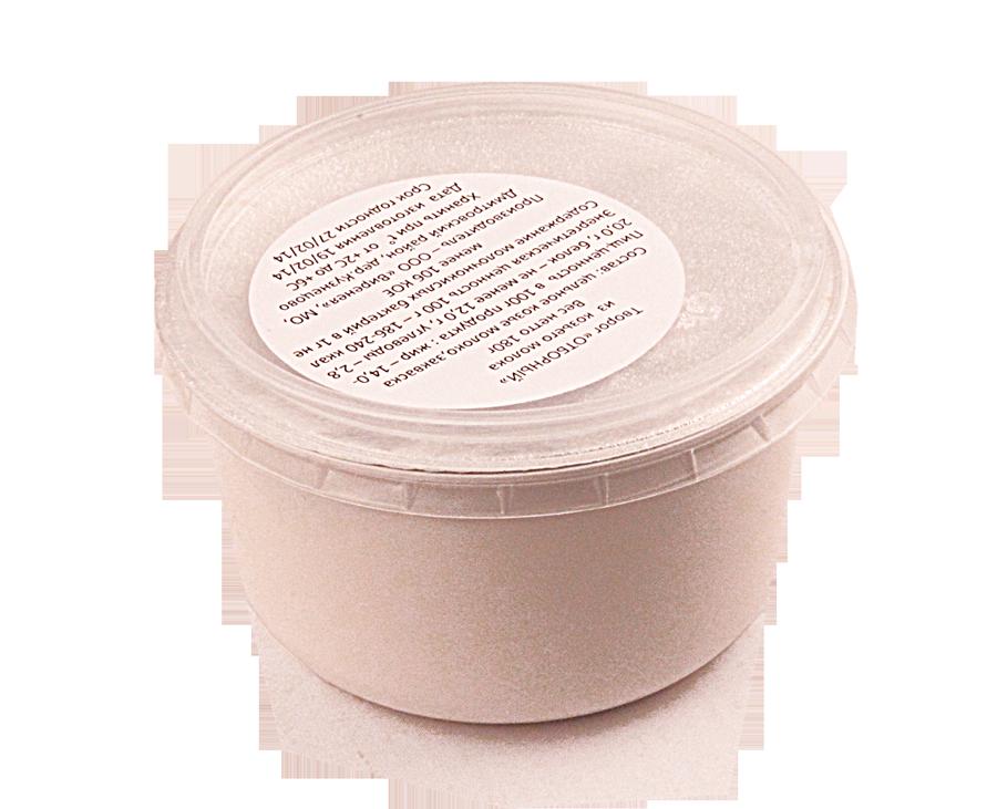 Творог отборный 14-20% жир., 180г из цельного козьего молока, 9 суток