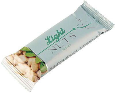Батончик арахисовый на фруктозе 40г козинак, LIGHT NUTS