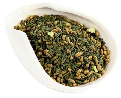 """Чай """"Генмайча"""" с добавлением матча 50г зелёный японский чай"""